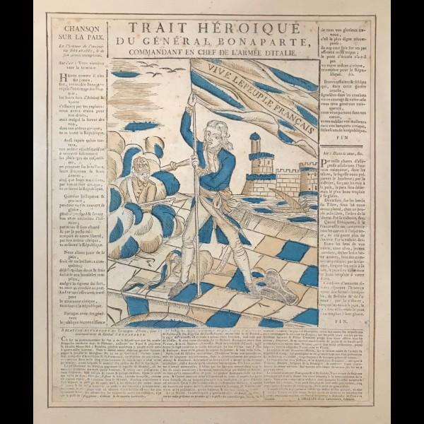 LETOURMY JEAN BAPTISTE (1747-1800) - TRAIT HEROIQUE DU GENERAL BONAPARTE