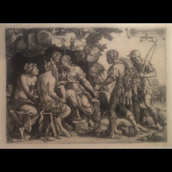PENCZ GEORG  (CA.1500-1550) - THETIS ET CHIRON