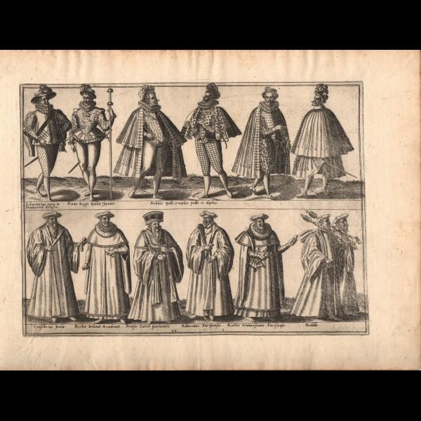 DE BRUYN ABRAHAM (1540?-1587) - DIVERS COSTUMES