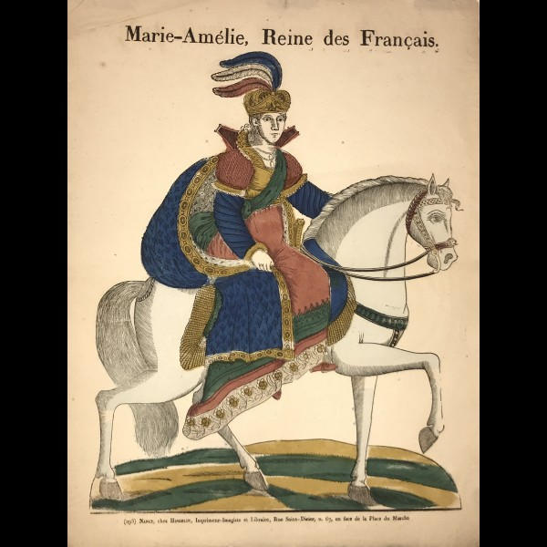HINZELIN - MARIE-AMÉLIE, REINE DES FRANÇAIS