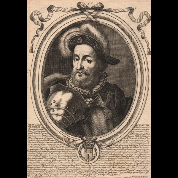 DE LARMESSIN NICOLAS (1632-1694)  - FRANCOIS I. ROY DE FRANCE
