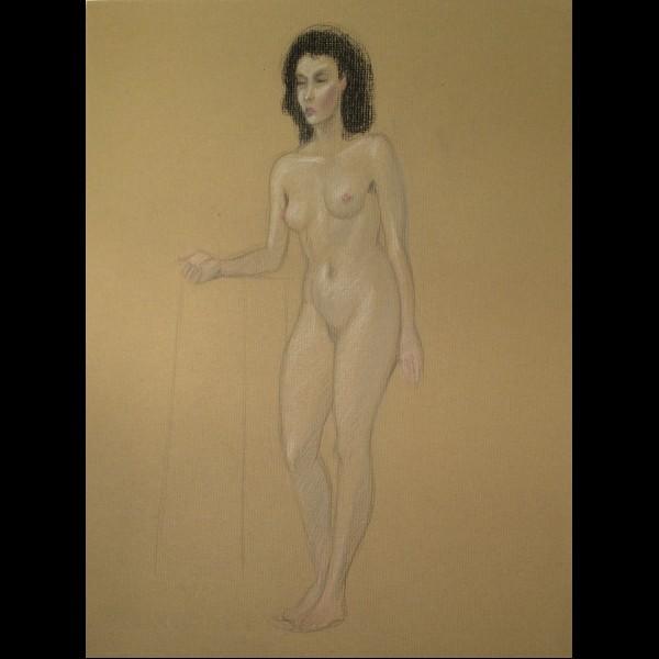 POILLERAT GILBERT  (1902-1988) - NU EN PIED