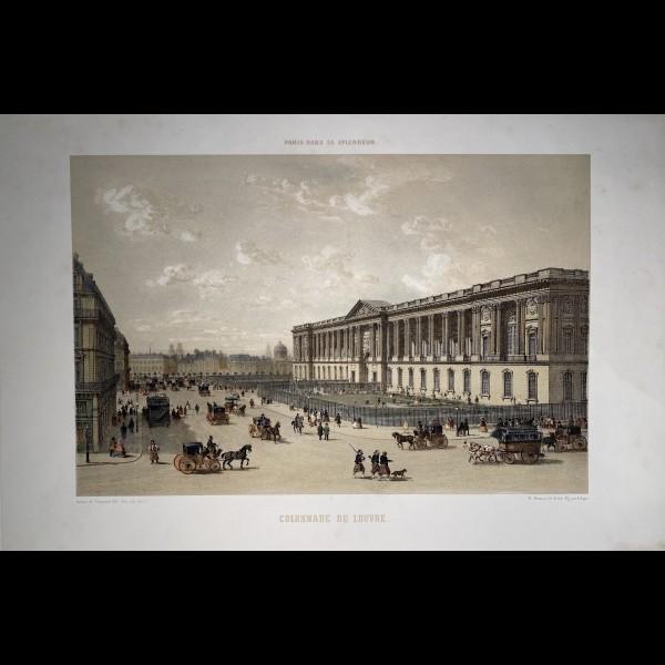 BENOIST GUILLAUME-PHILIPPE ( 1725-1770 ou 1800 ? ) - COLONNADE DU LOUVRE