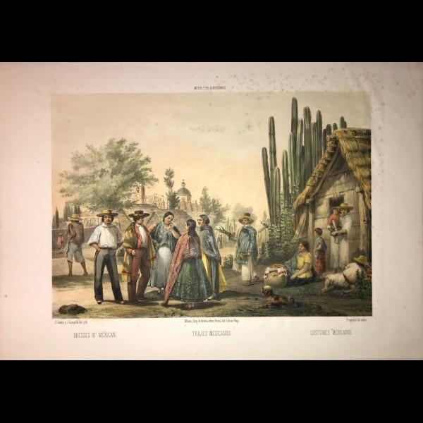 CASTRO, CAMPILLO, AUDA et RODRIGUEZ ( COLLECTIF) - TRAJES MEXICANOS