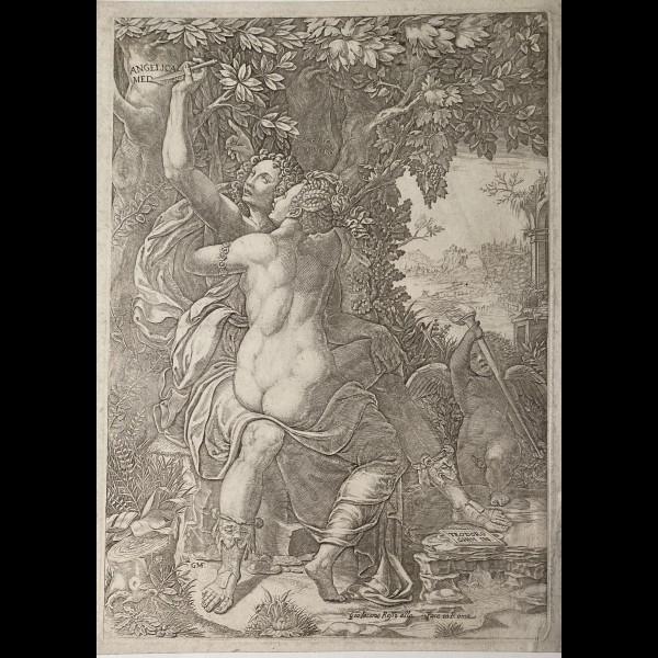 GHISI GIORGIO (1512/1520–1582) - ANGELIQUE ET MEDOR
