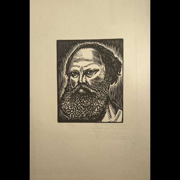 BELOT GABRIEL ( 1882-1962 ) - AUTOPORTRAIT DE L'ARTISTE