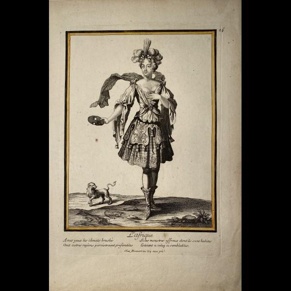 BONNART HENRI (1642-1711) - L'AFRIQUE