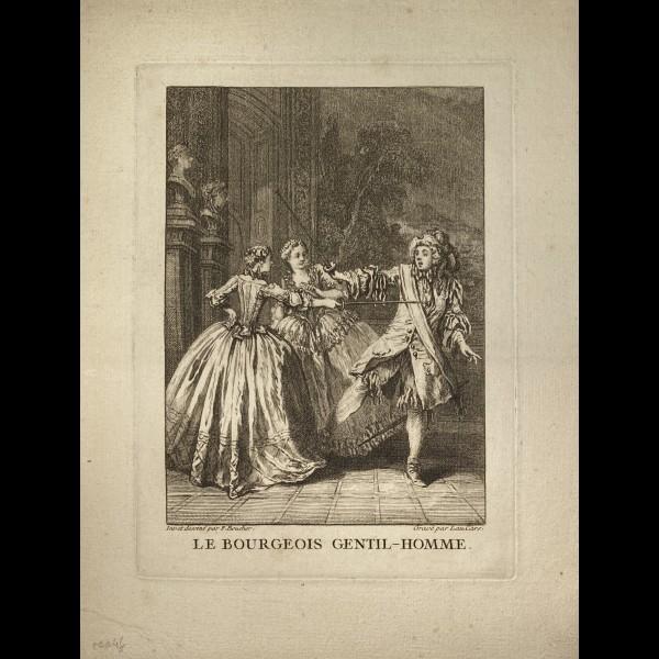 CARS LAURENT ( 1699/1702-1771 ) - LE BOURGEOIS GENTIL-HOMME