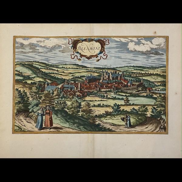 BRAUN GEORG (1541-1622)-HOGENBERG FRANS (1535-1590) - BLANMONT