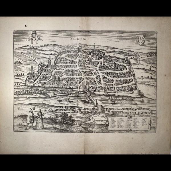 BRAUN GEORG (1541-1622)-HOGENBERG FRANS (1535-1590) - BLOYS