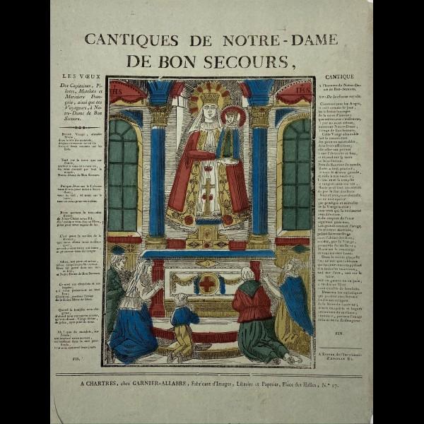 CANTIQUES DE NOTRE-DAME DE BON SECOURS