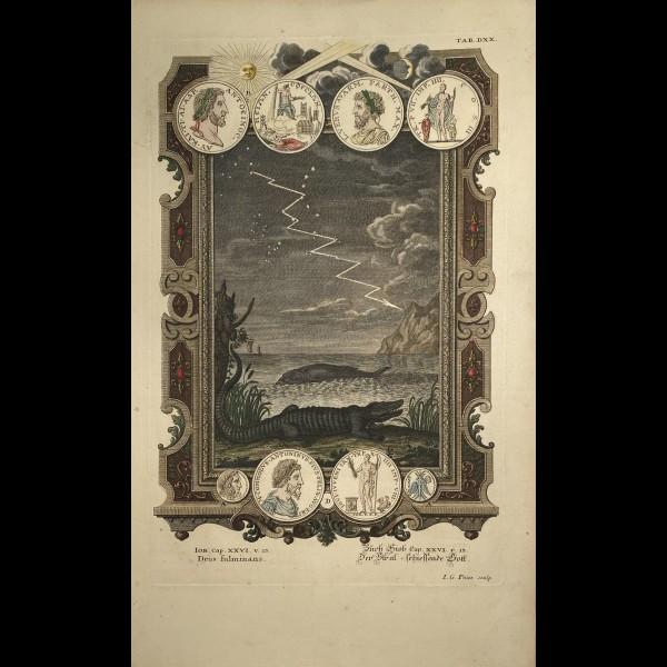 FÜSSLI JOHANN MELCHIOR (1677-1736) - DEUS FULMINANS