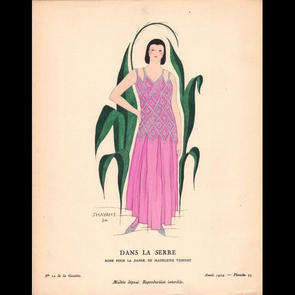 THAYAHT ( ERNESTO MICHAHELLES DIT ) (1893-1959)  - DANS LA SERRE
