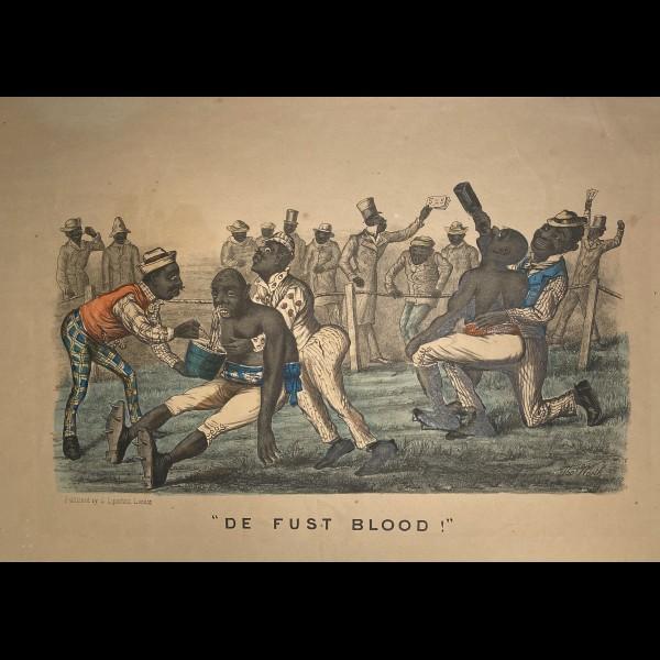 LIPSCHITZ SELIG ( CA.1834-1894 ) - DE FUST BLOOD
