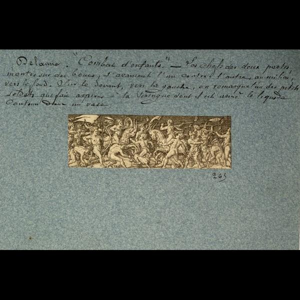 DELAUNE ETIENNE ( 1519-1583 ) - COMBAT D'ENFANTS