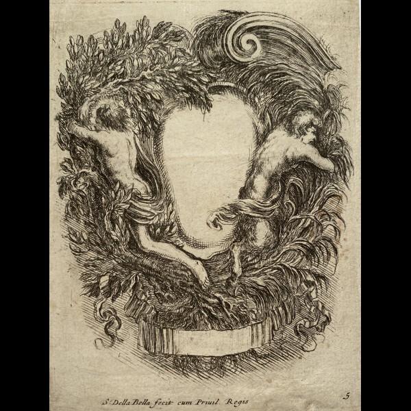 DELLA BELLA STEFANO (1610-1664) - APOLLON ET MARSYAS