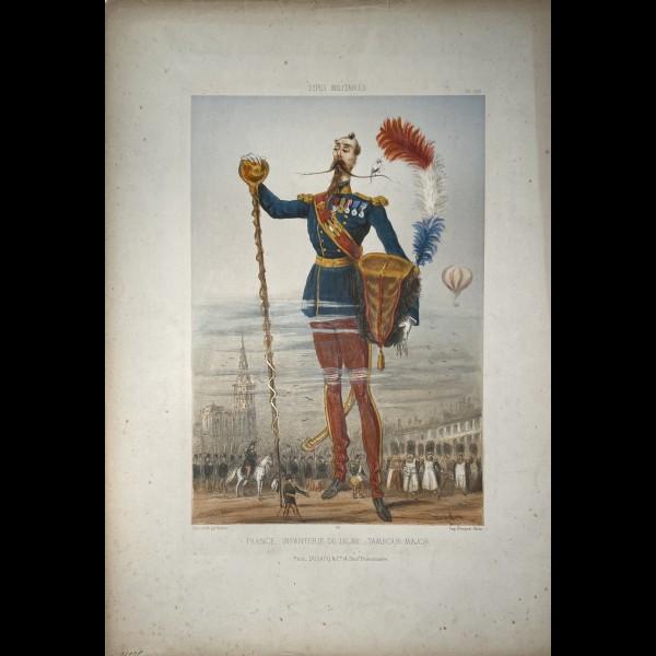 DRANER ( RENARD JULES JOSEPH GEORGES DIT ) (1833-1926 ) - FRANCE INFANTERIE DE LIGNE TAMBOUR MAJOR