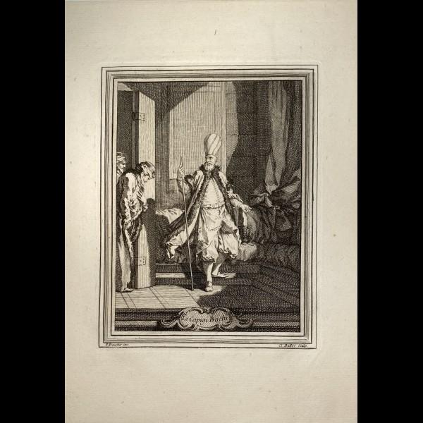DUFLOS LE JEUNE CLAUDE (1700-1786 ) - CAPIGI BACHI