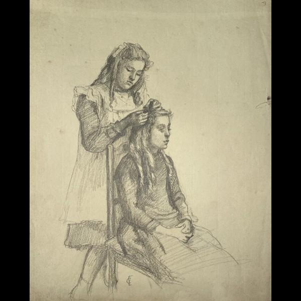 CHADWICK-LOWSTADT EMMA ( 1855-1932 ) - LA COIFFURE