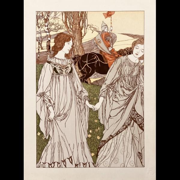 ENGELS ROBERT ( 1866-1926 ) - LE PASSANT