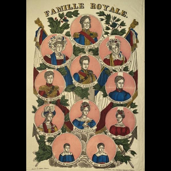 GEORGIN FRANCOIS ( 1801-1863 ) - FAMILLE ROYALE D'ORLEANS