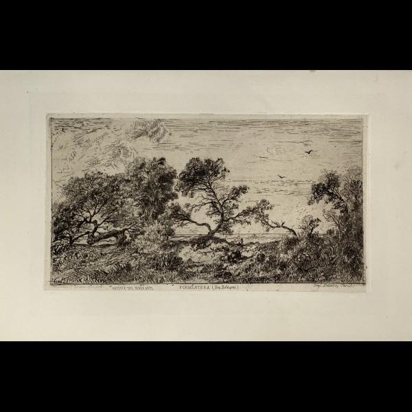 SAINT ETIENNE FRANCISQUE DE (1824-1885 ) - SOUVENIRS DES ILES BALEARES FORMENTERA