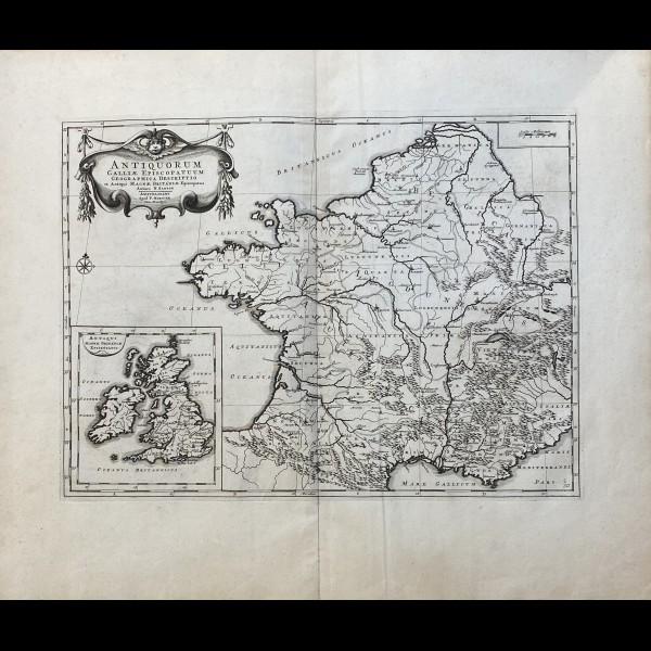 SANSON NICOLAS (1600 - 1667) - ANTIQUORUM GALLIAE