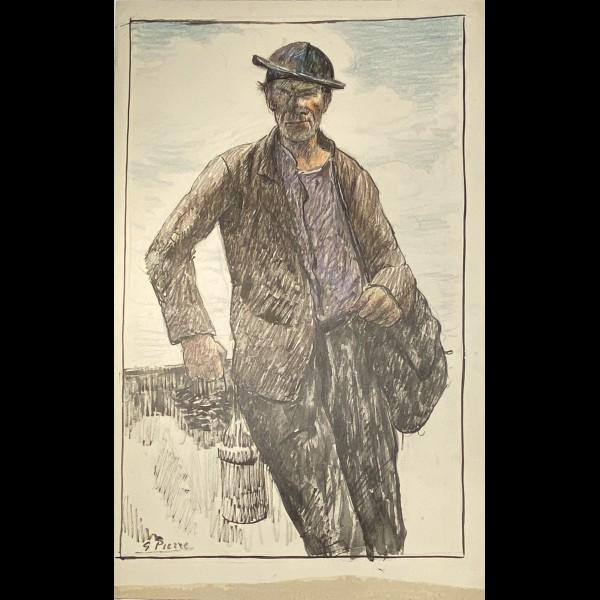 PIERRE GUSTAVE ( 1875-1939 ) - BRETON