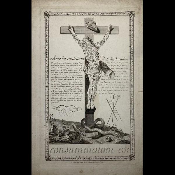 CREPY JEAN ( CA.1660-1739 ) - ACTE DE CONTRITION, ACTE D'ADORATION