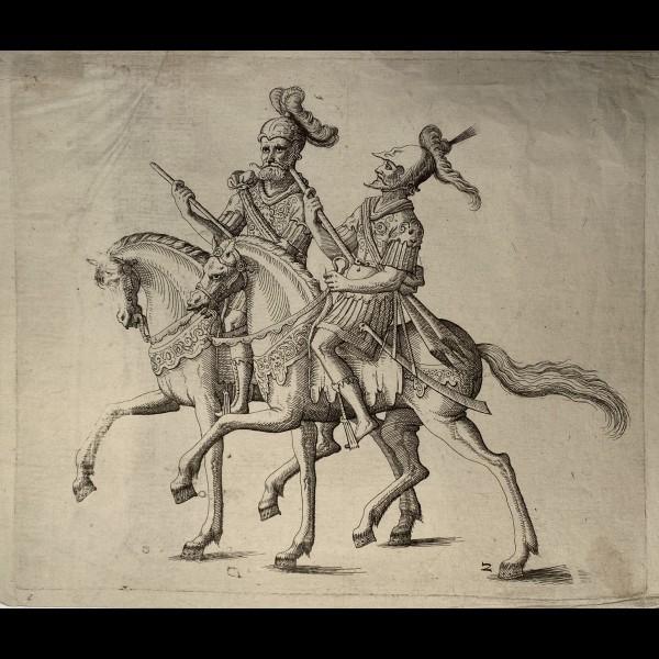 KUCHLER BALTHASAR ( 1571-1641 ) - COSTUMES POUR LES FETES DONNEES PAR LE DUC FRIEDRICH DE WURTEMBERG