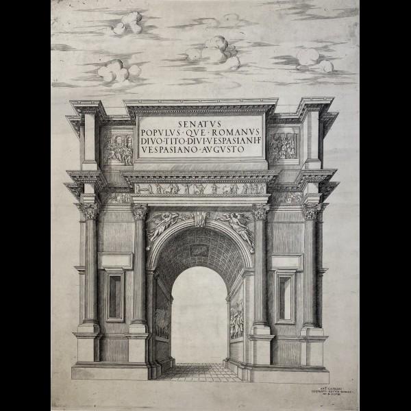 LAFRERI ANTONIO OU LAFRERY ANTOINE  ( CA.1512-1577 ) - ARC DE TITUS