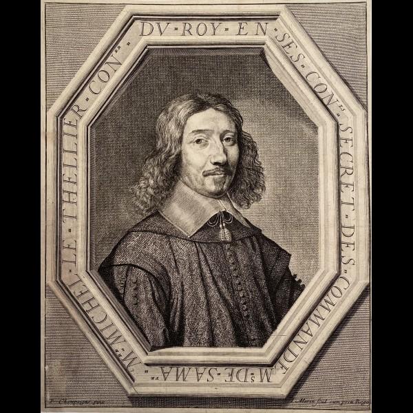 MORIN JEAN ( CA.1605-1650 ) - MICHEL LE TELLIER