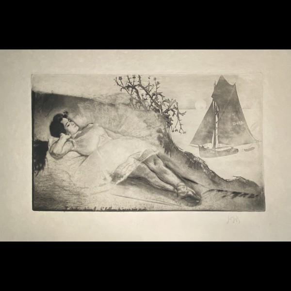LEGRAND LOUIS  (1863-1951) - 3 EME ACTE SCENE 8