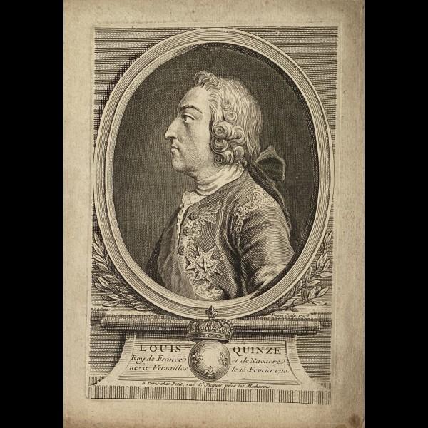 DUPIN PIERRE ( 1718-? ) - LOUIS XV