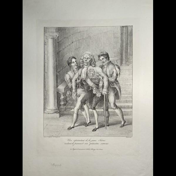DELAPORTE H ( ACTIF 1831-1835 ) - LE SERMENT DE LA JEUNE FRANCE