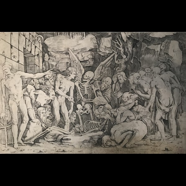 DENTE DA RAVENNA MARCO ( 1486/1500-1527 ) - THE SKELETONS