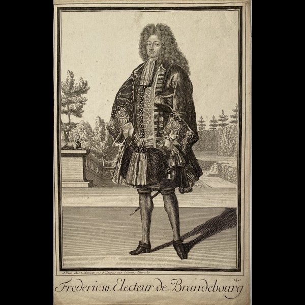 MARIETTE JEAN  (1660-1742) - FREDERIC III. ELECTEUR DE BRANDEBOURG