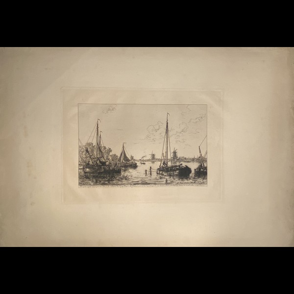 LALANNE MAXIME ( 1827-1886 ) - A ZAANDAM