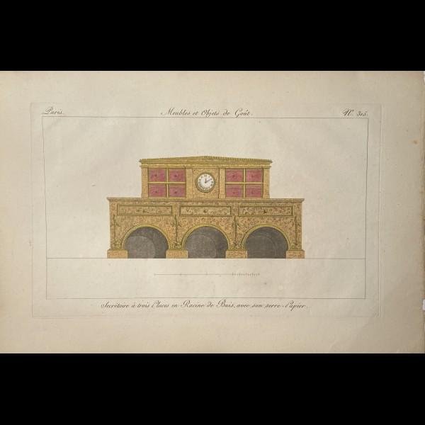 LEBOUX DE LA MESANGERE PIERRE JOSEPH ANTOINE  (1761-1830)  - MEUBLES ET OBJETS DE GOUT