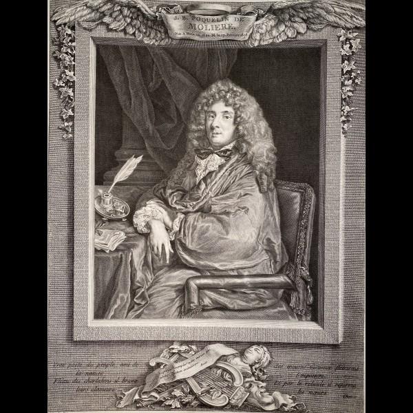 BEAUVARLET JACQUES-FIRMIN ( 1731-1797 ) - J.B POQUELIN DE MOLIERE