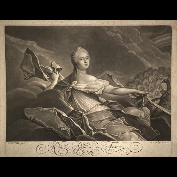 NEGGES JOHANN-SIMON ( CA.1726-1792 ) - MADAME ADELAIDE DE FRANCE OU L'AIR