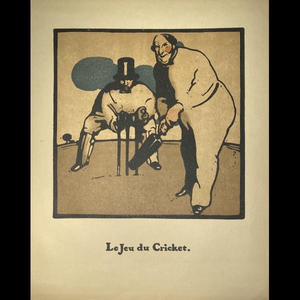 NICHOLSON WILLIAM ( 1872 -1949 ) - LE JEU DU CRICKET