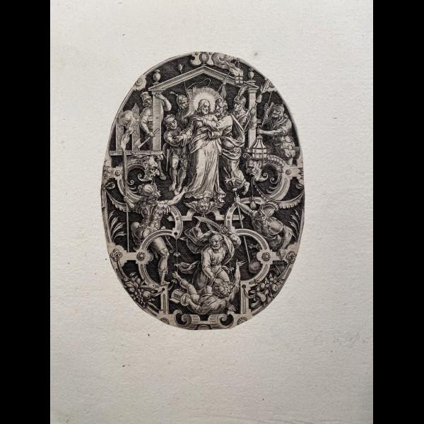 SADELER JOHANNES ( 1550-1600 ) - LA TRAHISON DE JUDAS