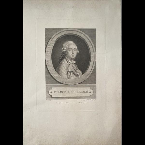 SAINT AUBIN AUGUSTIN DE ( 1736-1807 ) - FRANCOIS RENE MOLE