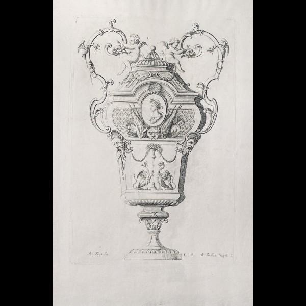TORO JEAN-BERNARD ( 1661-1731 ) - VASE N°3