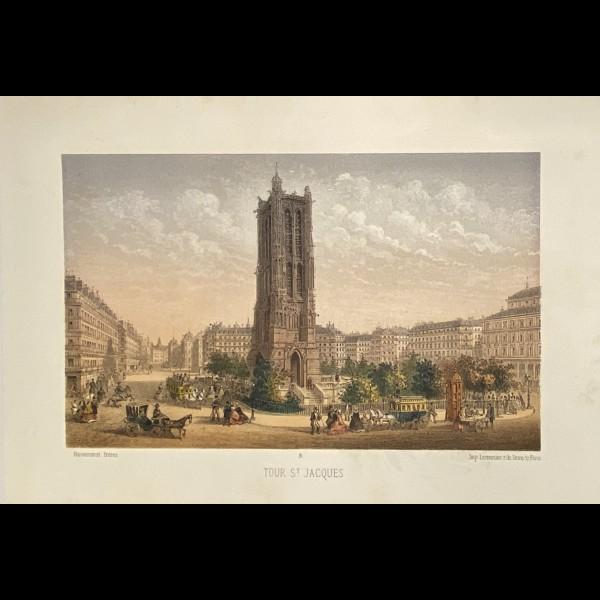 HAUTECOEUR EDOUARD  (1847-1904)  - TOUR SAINT JACQUES