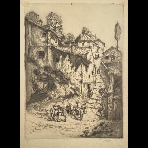 TROWBRIDGE VAUGHAM (1869-1941) - GRENADE