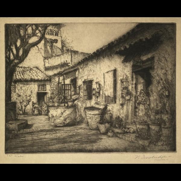 TROWBRIDGE VAUGHAM (1869-1941) - SEVILLE