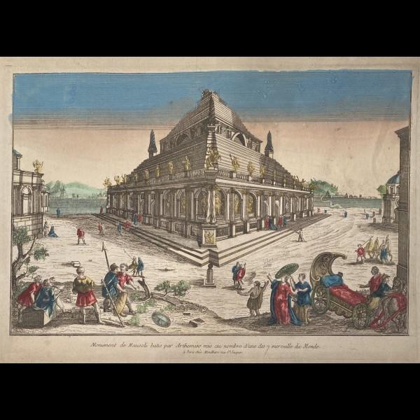 MONDHARE LOUIS-JOSEPH (1734 - 1799) - MONUMENT DE MAUSOLI BATIS PAR ARTHEMISE MIS AU NOMBRE D'UNE DES 7 MERVEILLES DU MONDE